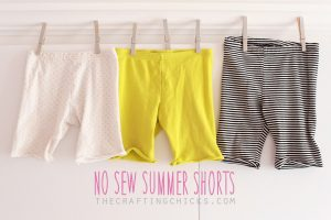 horizontal summer shorts
