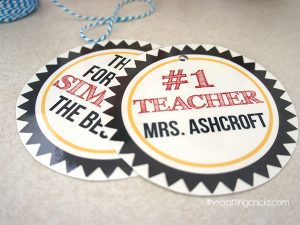 #1 Teacher Tags