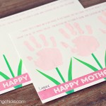 Sweet Mother's Day Handprint Poem *Free Printable