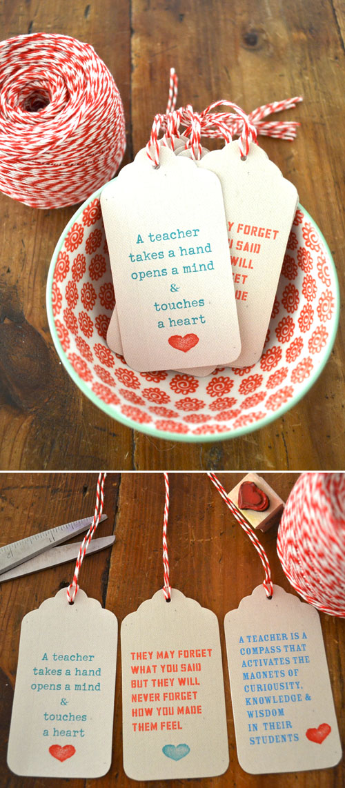 Teacher Gift Ideas The Crafting Chicks