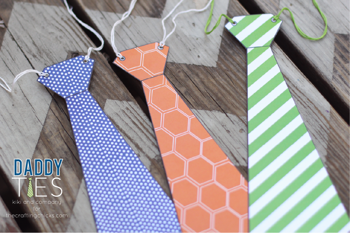 photo about Printable Ties named Daddy Ties- A Fathers Working day Printable Card - Kiki Small business