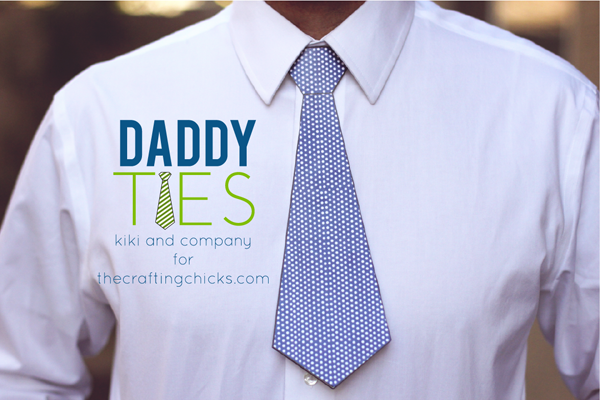 Printable Daddy Ties. Perfect for Father's Day.