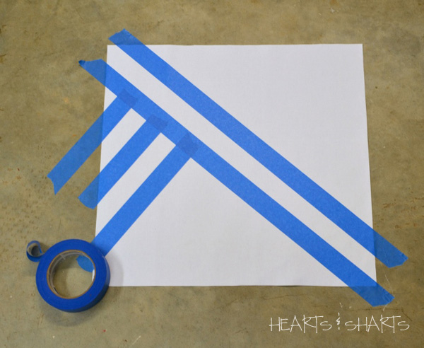 create-design-using-painters-tape-Hearts-And-Sharts-Crafting-Chicks
