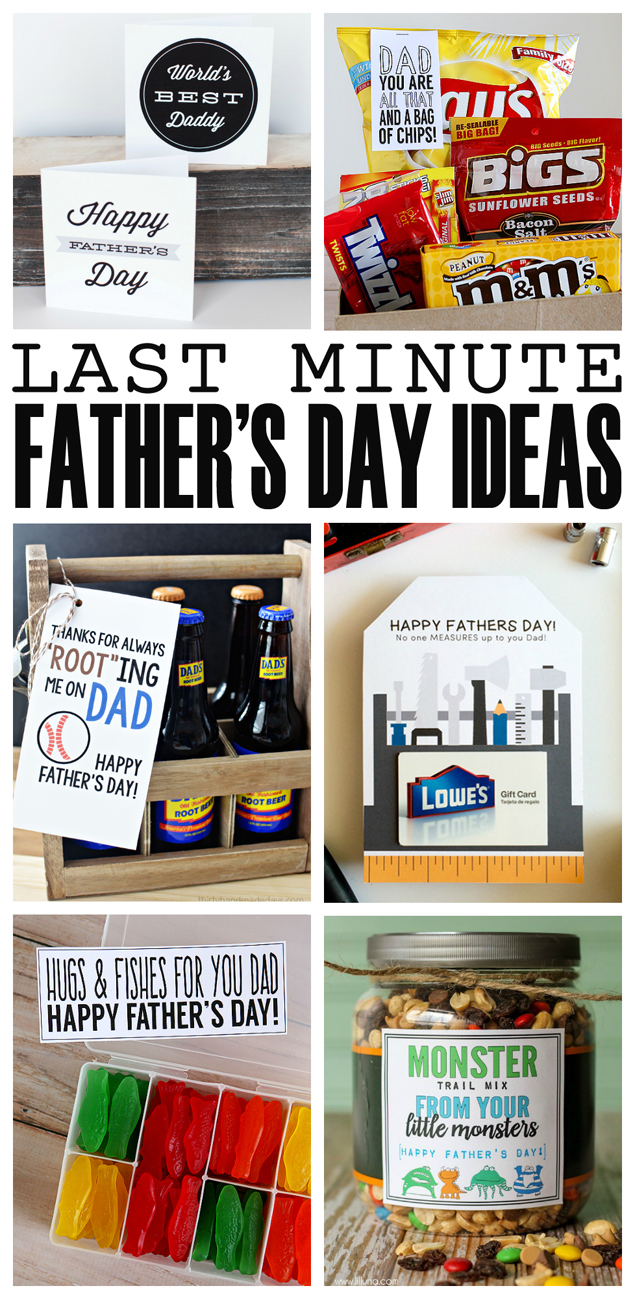 Last Minute Father's Day gift ideas from Eighteen25