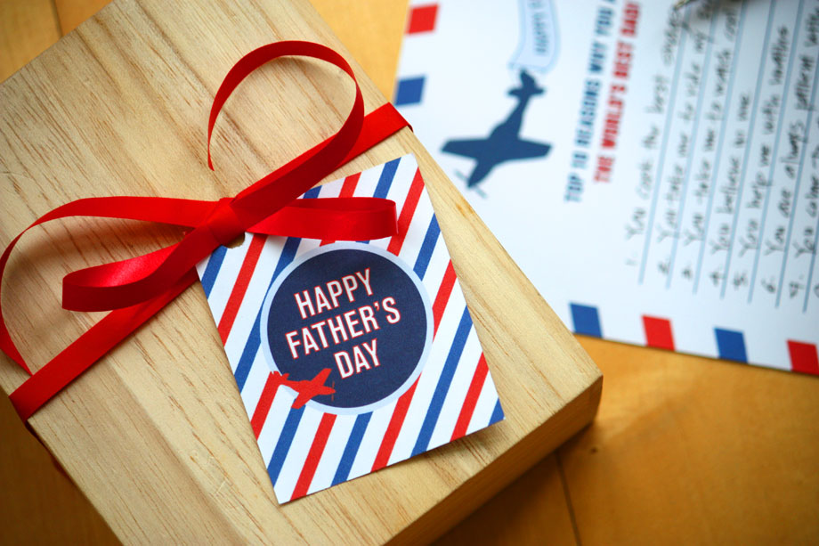 fathers day printables ham and pea