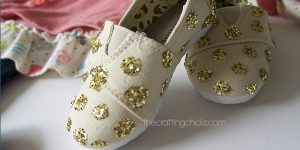 Glitter Polka Dot Shoes