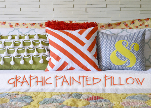 graphic-painted-pillow-painters-tape-Hearts-And-Sharts-Crafting-Chicks