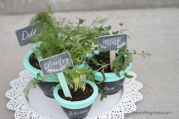 herb-garden-with-chalkboard-paint