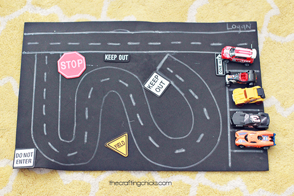 Fun Amp Simple Toy Car Play Mat The Crafting Chicks