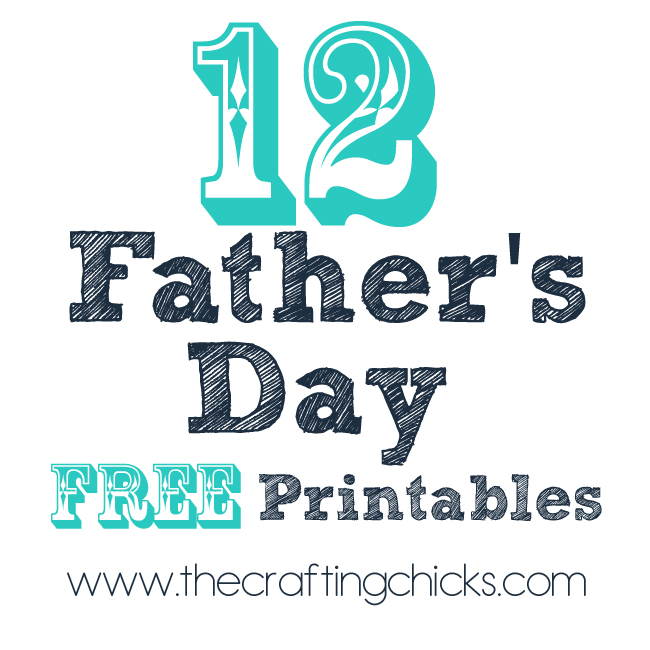 12 Free Printable Father's Day Gift Ideas