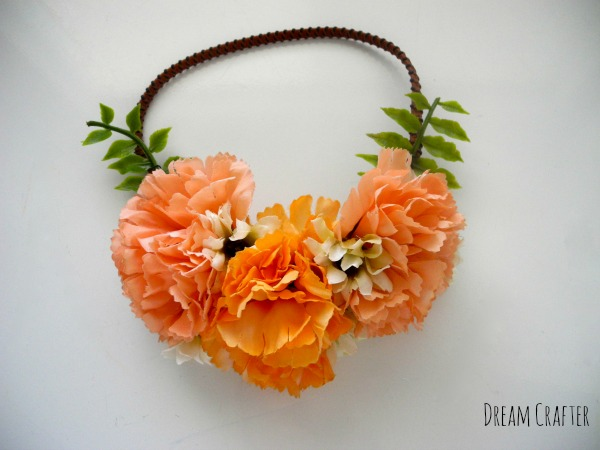 Carnation Floral Crown