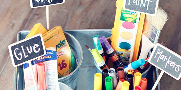 The Perfect Art Supply Caddy