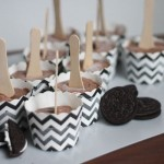 Oreo Chocolate Pudding Popsicles