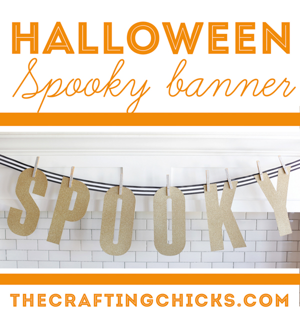 Glitter Spooky Banner1