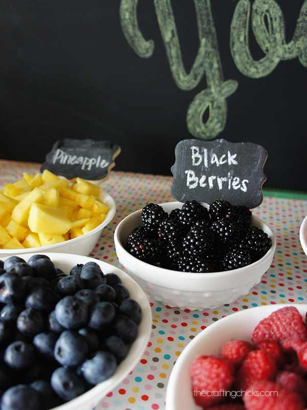 fro-yo berries