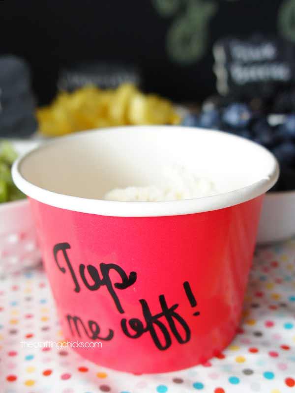 fro-yo cup