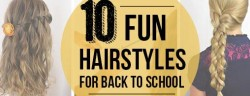 Fun Hair for Back to School