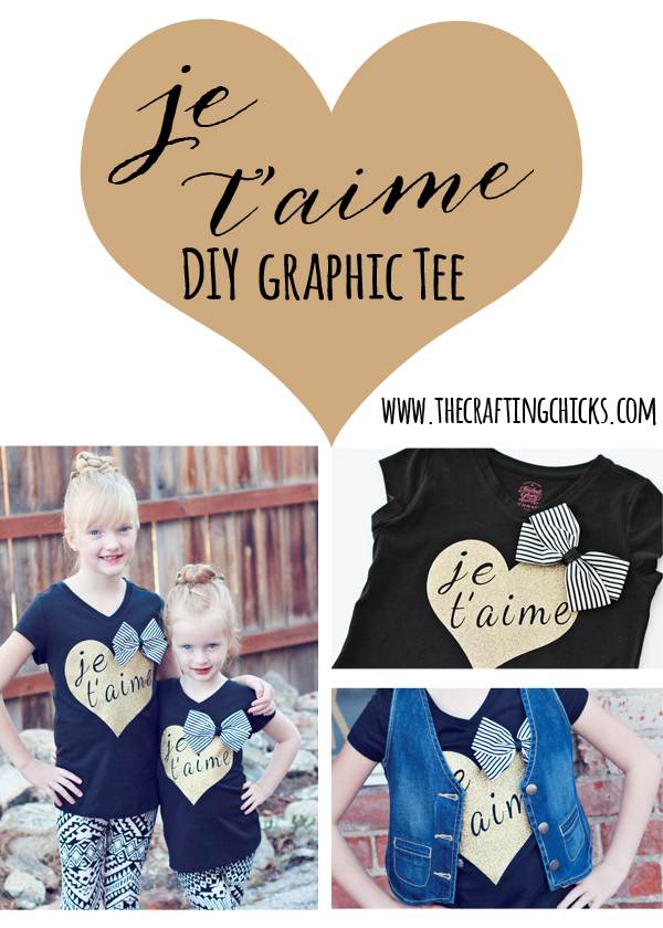 DIY Graphic Tee - So fun and easy to make!