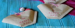 Quick & Easy Coffee Filter Party Favors