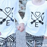 DIY Love & Arrows Graphic Tee *Cricut Explore