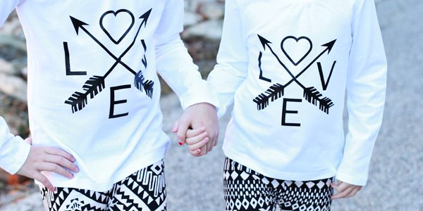 DIY Love & Arrows Graphic Tee *Cricut Explore