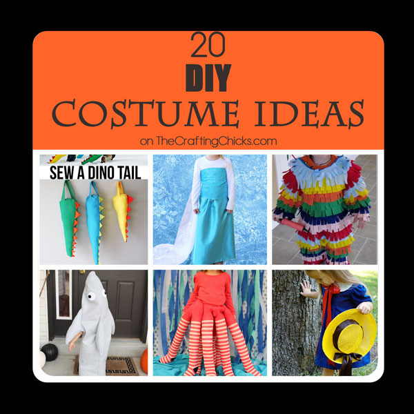 20 DIY Costume Ideas