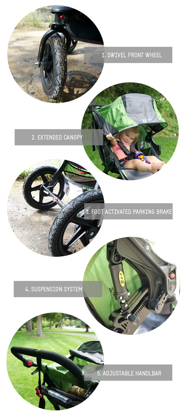5 things I never knew I needed in a stroller