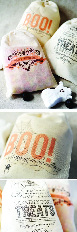 Halloween printable bags