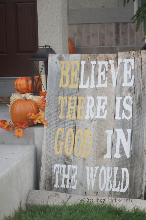 Be-The-Good-Porch-Sign