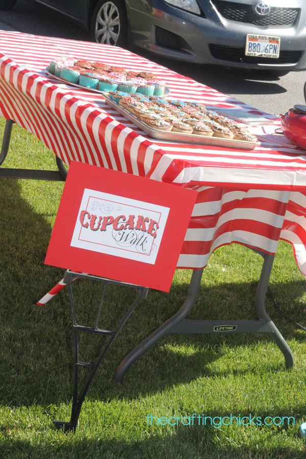 Carnival Cupcake Walk