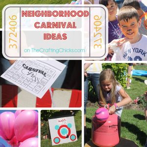 How to Throw a Neighborhood Carnival. Great ideas and tips!