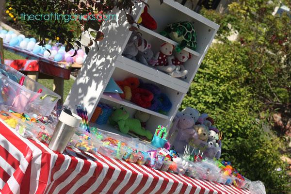 Carnival Prize Table