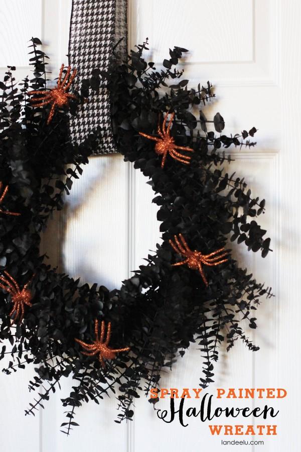 Halloween-Spray-Painted-Wreath-Tutorial-e1382591218381