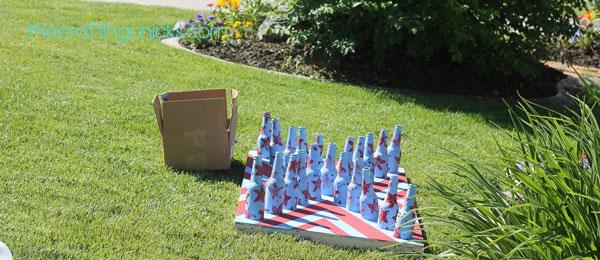 Knock the Bottle Carnival game