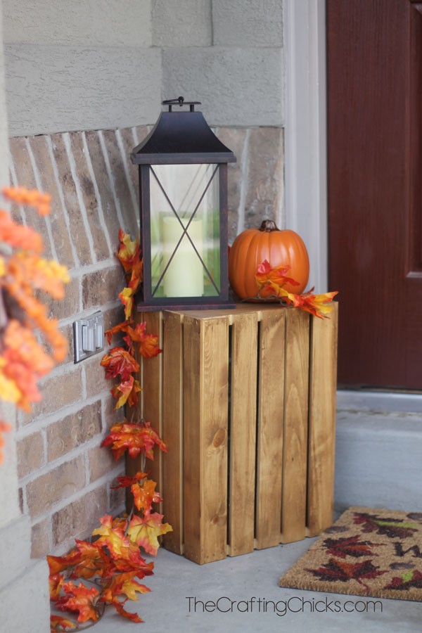 Fall porch ideas for small porches Small front porch decorating ideas for fall