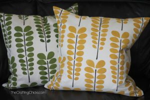 Painted-pillow-covers