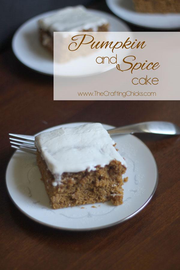 Pumpkin and spice cake