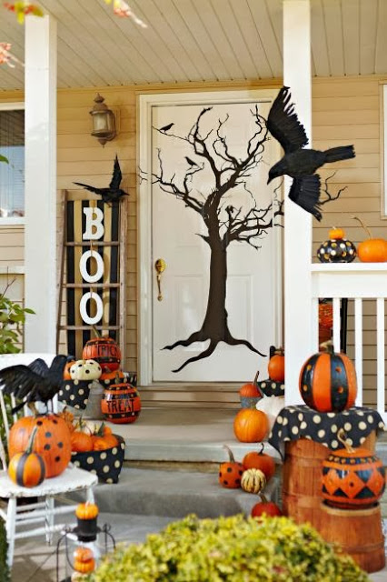 halloween door 9