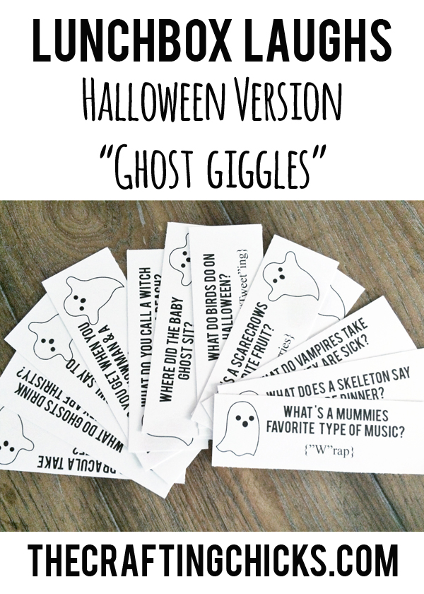 "Lunchbox Laughs Halloween Version-""Ghost Giggles""r"