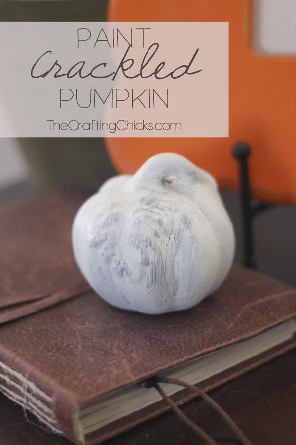 Paint-Crackled-Pumpkin