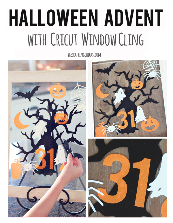 It was so fun to try out Cricut's Window Cling Material with my ...