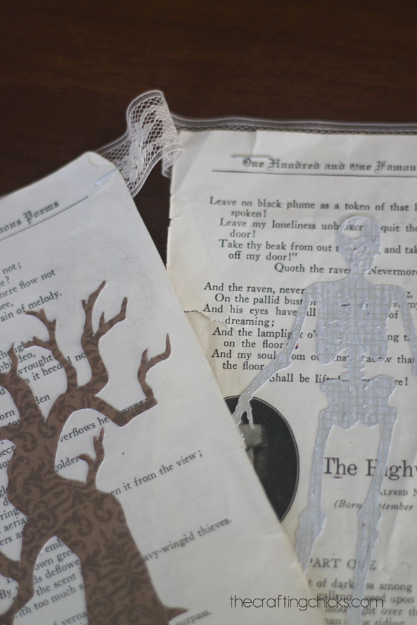 how-to-make-a-halloween-book-banner