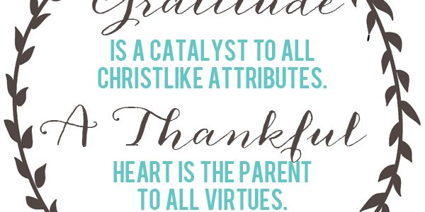 A Thankful Heart – Free Printable