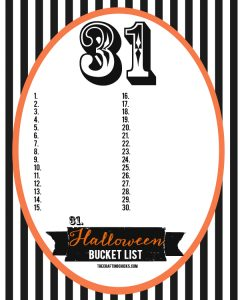 sm halloween bucket list blank