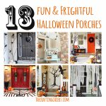 13 Fun & Frightful Halloween Porches