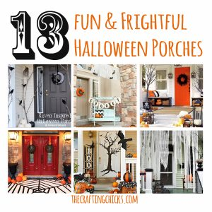 13 Fun and Frightful Halloween Porches