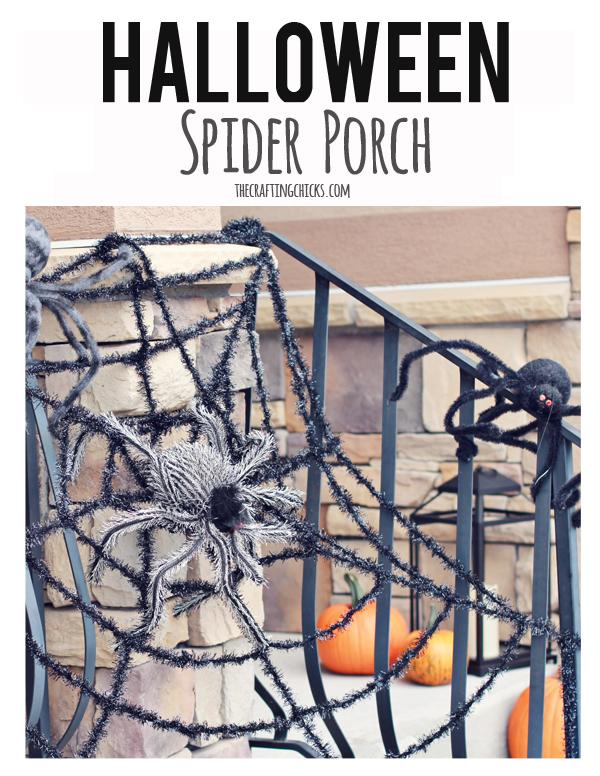 sm halloween porch header spider