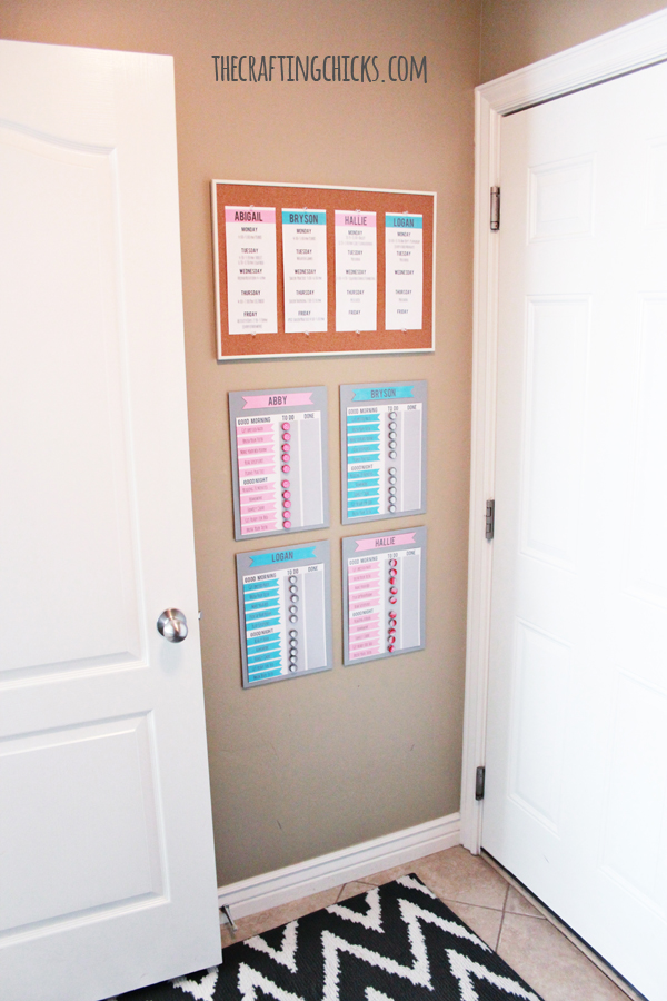 Morning Motivation Solution. Use these awesome chore charts to get your kids motivated in the morning. | Chore Charts | Job Charts