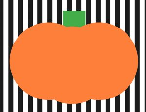 sm pumpkin playdoh mat