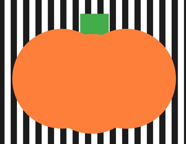 pumpkin playdoh mat